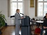 Rosa-Maria Haschke erläutert die Ziele des Fachtages
