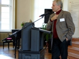 Dr. Jens Uwe Böttcher bei seinem Impulsreferat