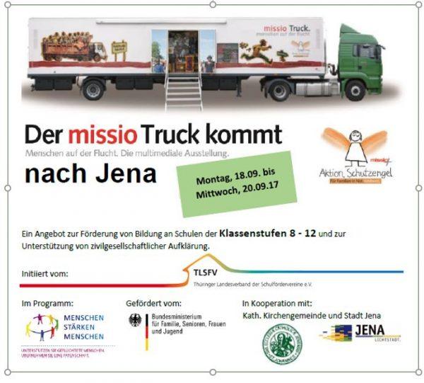 Der TLSFV holt missio-Truck nach Jena!