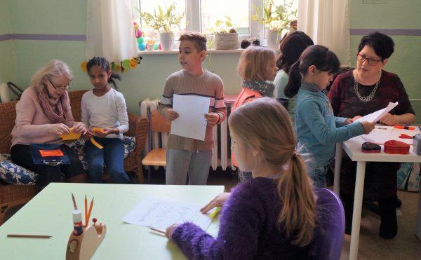 """Besuch an der """"Martinischule"""" Mühlhausen"""
