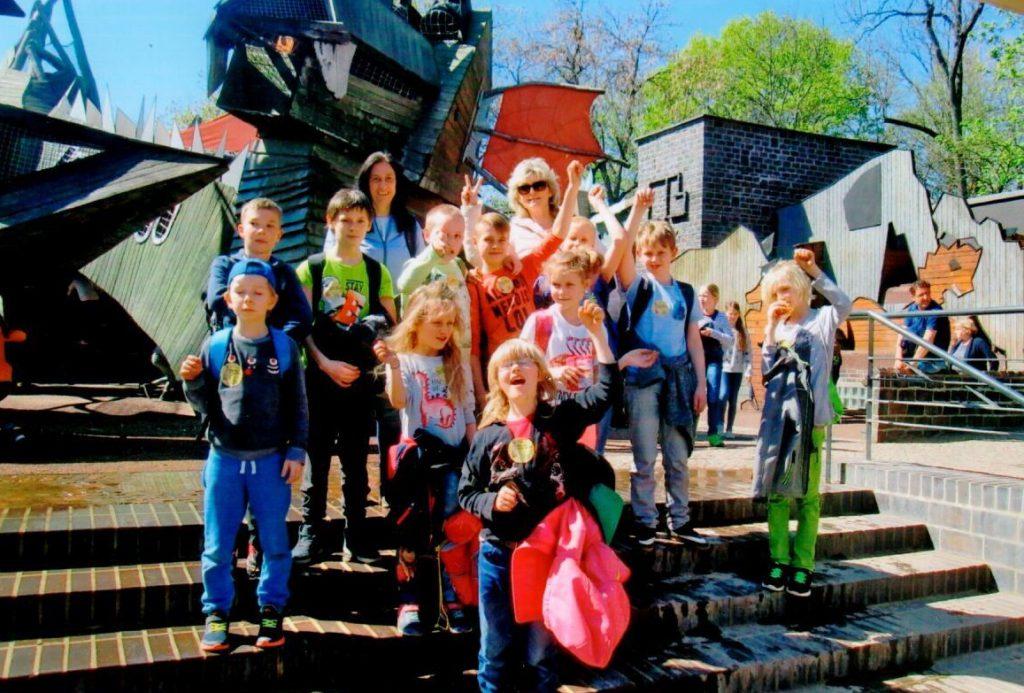 Patenschaftstandems unterwegs im Zoo Leipzig